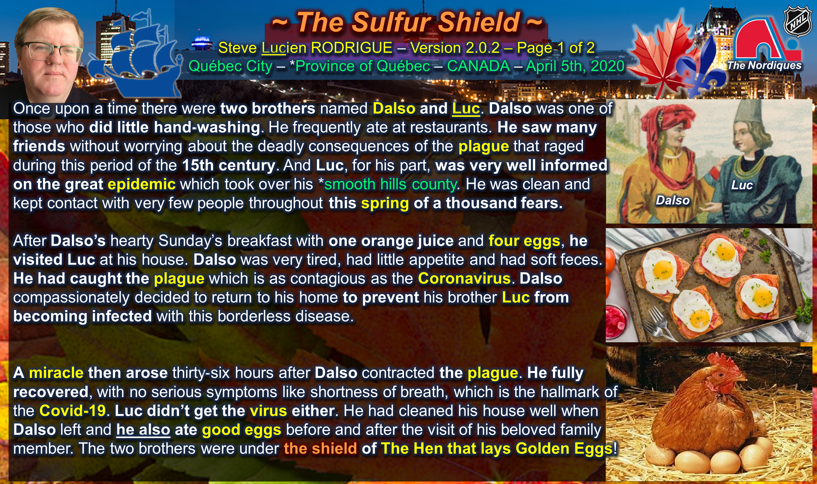 The Sulfur Shield Page 1