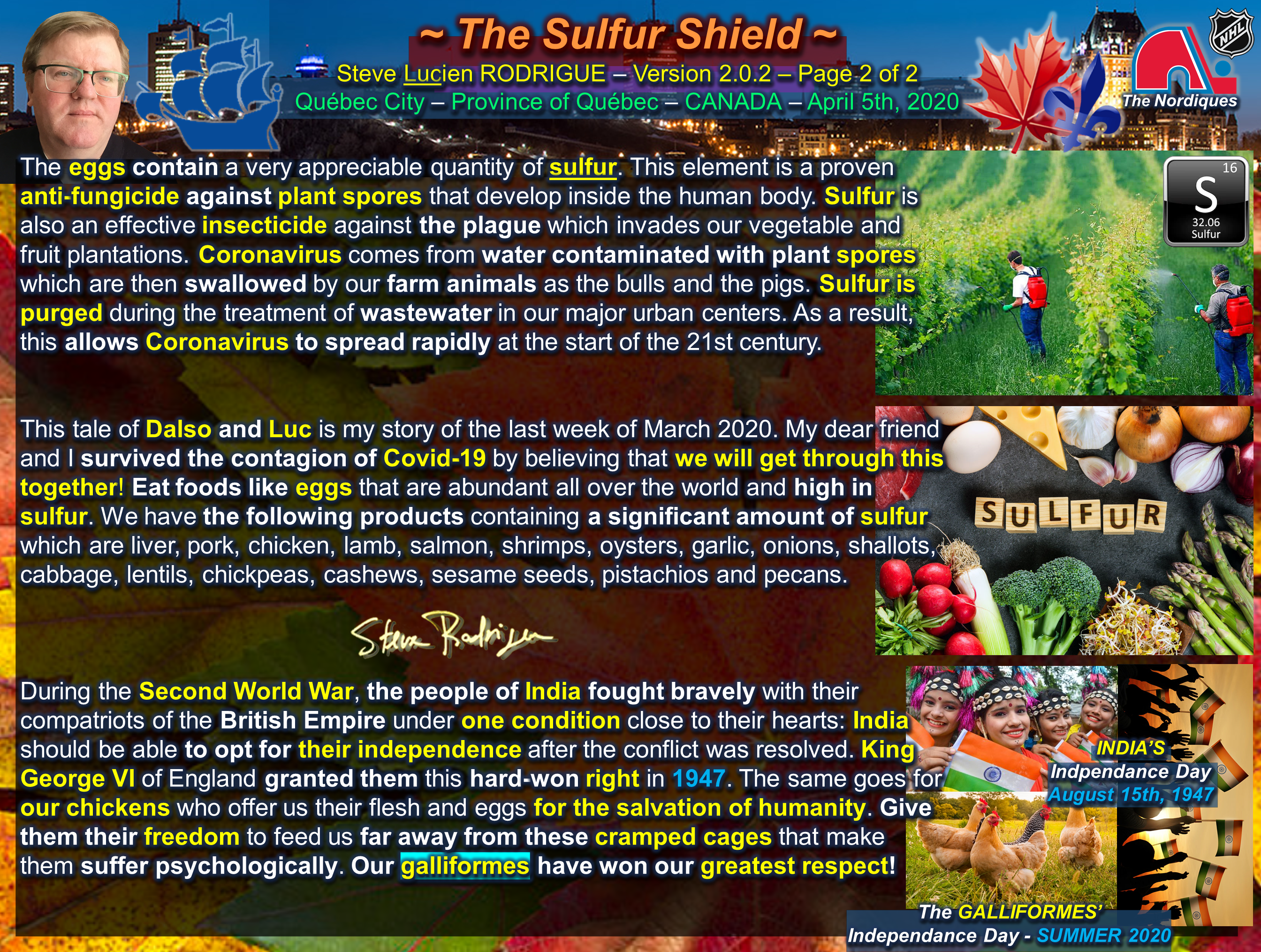 The Sulfur Shield Page 2