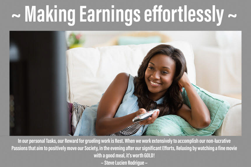 Making Earnings effortlessly
