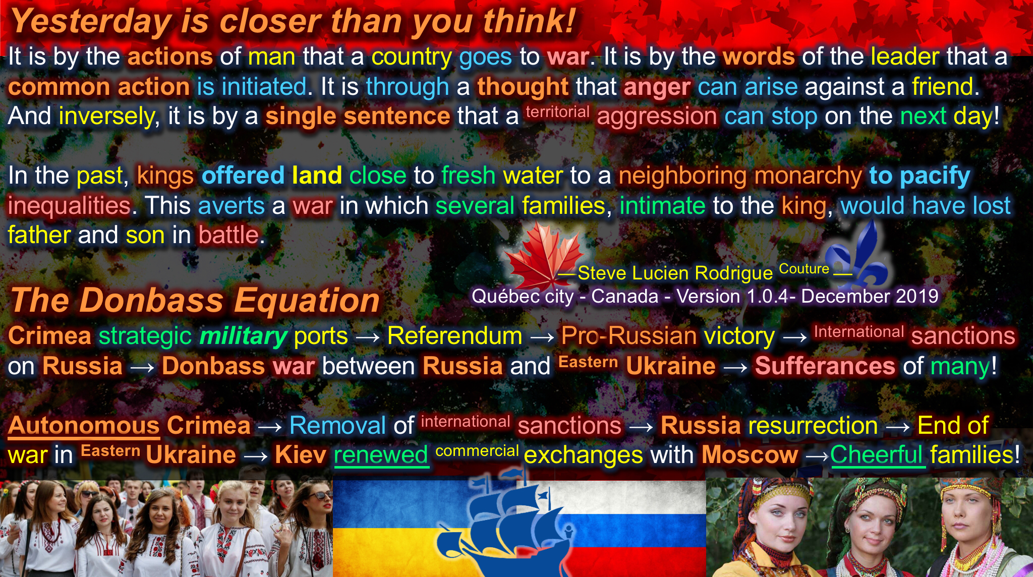 The Donbass Equation
