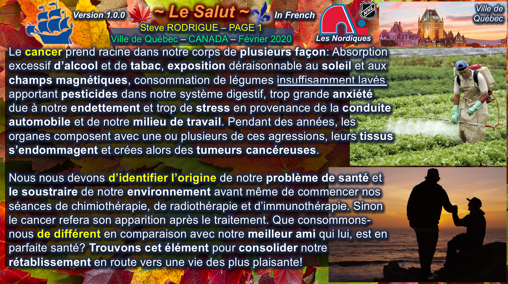 Identification de l'origine du cancer